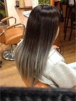 ヘアー アウフ 旭店(hair AUF)グラーデーションカラー