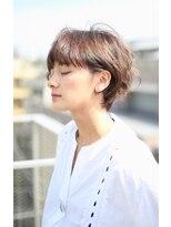 レンジシアオヤマ(RENJISHI AOYAMA)柔らか質感耳掛けフレッシュショート 【池田 涼平】