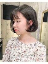 ジアン NU茶屋町+(GIEN)韓国ボブスタイル☆タンバルモリ◎山本みづき