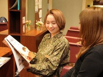 シン 柏原通り店 Shinの写真/カウンセリングを重視し一人ひとりに最適な薬剤・施術を。健康的に美しい髪へ導きます◇