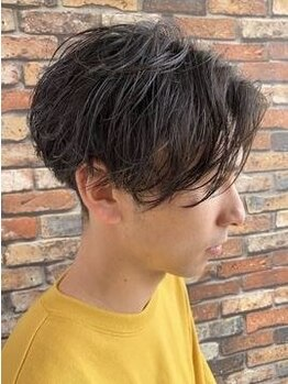 リジョイスヘア エン(REJOICE hair EN)の写真/【駅近×19時まで受付OK】メンズ限定クーポン有☆一人ひとりの骨格に合わせた再現性の高いカットが好評!