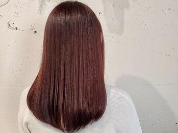 サヴァ サクラ(SAVA sakura)の写真/エイジング毛やダメージレベルに合わせた厳選トリートメントによる髪質改善