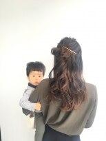 ヘアメイク オブジェ(hair make objet)ゆるふわハーフアップ KAI