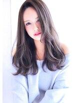 【大人可愛いイルミナカラーブルージュロング】Hayato Ooshiro