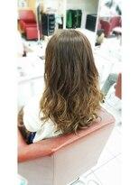 ヘアーアンドメイク ポッシュ 根岸店(HAIR&MAKE POSH)ベージュグラデーションカラー