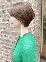 キアラ(Kchiara)髪が多く硬い方でもまとまるショートkchiara天神川野直人