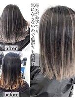 アライブ キチジョウジ(ALIVE Kichijoji)ALIVE吉祥寺 美髪グレージュバレイヤージュカラーフレンチボブ