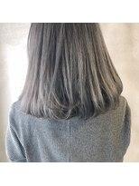 *透ける魔法の暗髪☆パールグレー*