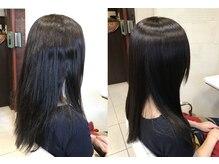 ヘアアンドメイク しゅくる 瑞江本店の雰囲気(髪質改善エステで頑固な癖やダメージも切らずに再生させます)
