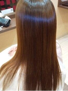 """エルアスクの写真/【縮毛矯正専門店】1人1人のなりたい""""髪質""""にこだわり、今までと違った極上の仕上がりを叶えます♪"""