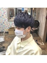 ロコマーケット 下北沢店(hair meke Deco.Tokyo)メンズマッシュ ブリーチカラー