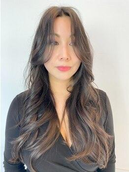 """ボンズサロン(BONDZSALON)の写真/前髪や顔回りの細かなバランスを見極めた繊細なカットで""""抜け感""""を―。あなたに似合うスタイルをご提案!"""
