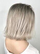 ソース ヘア アトリエ 京橋(Source hair atelier)ホワイトベージュ