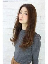 インデックスヘアー 錦糸町店(in'dex hair)【クセも活かして楽チンヘア☆】ロングのワンカールスタイル