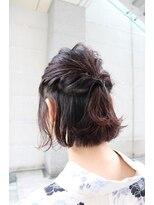 ヘアーサロン ニュアンス(HAIR SALON nuance)浴衣に似合うアレンジヘア