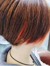 ヴィセ(atelier visse)フレーミングカラー×インナー #オレンジ