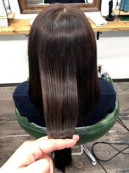 フィレール(Filer)の写真/天然成分100%【ハーブトリートメント】美髪・薬剤ともにこだわりの高品質使用!今より綺麗になりたい方へ…