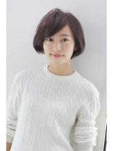 モッズ ヘア みなとみらい店(mod's hair)【URIELLE 2014-15 A/W 】ナチュラルショートボブ