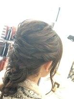 ヘアーアトリエ ラポルト(hair atelier la porte.)ヘアセット ロング