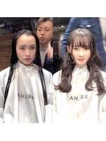 シェルハ(XELHA)大好評☆仲道IGTV☆お客様【before→after】暗髪ロング 前髪あり