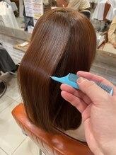 どんなヘアスタイルでも自然に扱いやすく!どんな方でも美髪になれる【髪質改善】でツヤサラな美髪に♪