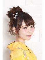 リリー ギンザ(Lily Ginza)浴衣★ゆるふわお団子