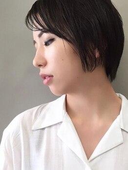 シゼン(SHIZEN.)の写真/髪&頭皮に優しいメニューを取り揃えるデザインカラーだけでなくグレイカラーも多く取り揃えてます♪