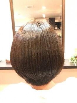 レッドマインド(Red Mind)の写真/頭皮に優しいカラー剤を使用!イルミナカラーで気になる白髪をカバーしながら、オシャレも楽しめる☆