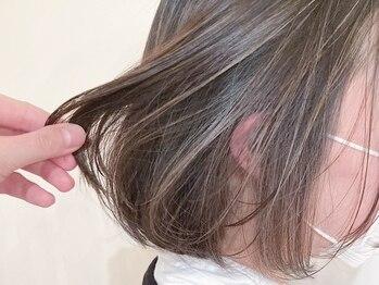 アイナ 銀座(Aina)の写真/【外国人風3Dハイライトカラー・カット・極上ツヤ髪Tr】自分らしく好きな色を。白髪染めも◎【Aina 銀座】