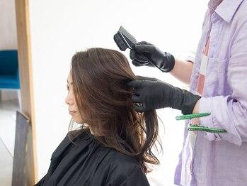 グッドデイ(good day)の写真/【オーガニック成分配合のナチュラルハーブカラー】髪と地肌の負担を極力抑え、内側から強くしなやかな髪へ