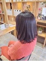 キートス ヘアーデザインプラス(kiitos hair design +)ナチュナルブラウン