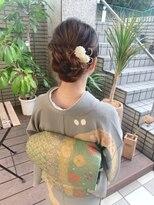 【hair salon W】卒業入学ヘアセット