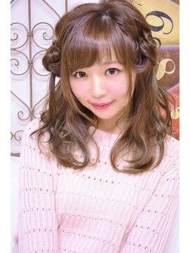 メイズ(MAZE)羊ヘアアレンジ【メイズ東中野・鍛原志行】