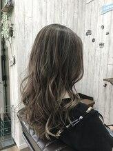 シャルマンフォーヘア(Charmant for hair)☆Charmant☆ハイライトベージュ×ロングレイヤー