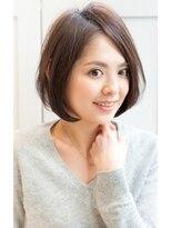 リル ヘアーデザイン(Rire hair design)【Rire-リル銀座-】美シルエット☆耳かけナチュラルボブ