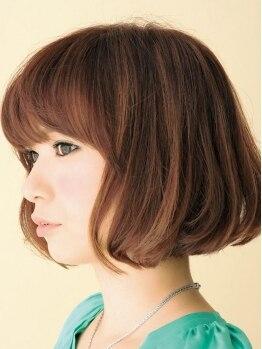 ヘアサロン コマチ(hair salon comachi)の写真/ベテラン技術で安心♪髪のダメージや、骨格や、目のパーツを計算して一番可愛く見えるヘアスタイルに