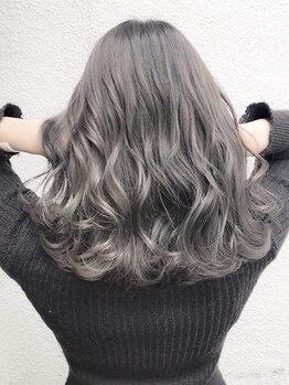 アグ ヘアー スペース 渋谷店(Agu hair space)の写真/【プレミアムカラー+カット¥2900】透明感,柔らかさ,質感etc…Colorで印象をコントロール。褒められ冬ヘア!