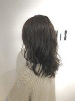 フレイムスヘアデザイン(FRAMES hair design)セミロング×ゆるふわコスメパーマ