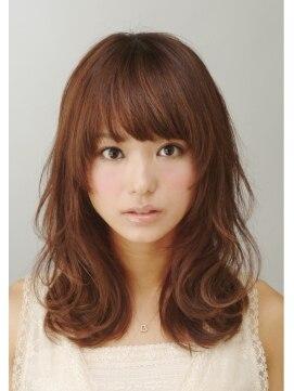ヘアサロン シンクロ(hair salon SYNQRO) ゆるふわカール