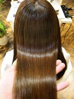 ベレッタ 樟葉(veretta.)の写真/【テレビなどで話題!】 ミネコラで髪の芯からキレイになれるケアを♪贅沢なケアで美髪を手に入れて★