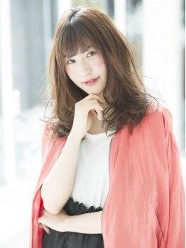 ソーエン アサブ 札幌5号店(soen asabu)の写真/【カット+トリートメント¥3900】可愛いStyleはヘアケアが重要!豊富なトリートメントMENUでうるツヤ髪に♪