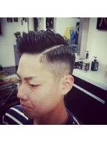 ヘアーサロン ファイン(Hair Salon FINE)七三スタイル×パーマ