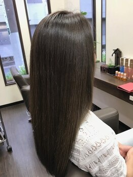 バンチ(Baint.)の写真/デザインにもケアにもこだわりたいあなたにオススメ◎通う度美しい髪へと導くダメージレスな施術が魅力!