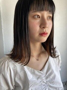 シーク(seek)【seek菜月】短め前髪ミディアム【長野 松本】