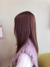 ライフヘアデザイン(Life hair design)春のナチュラルピンクベージュ☆