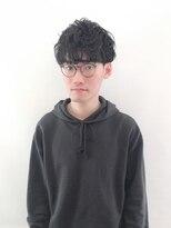 ヘアーアイスカルテット(HAIR ICI QUARTET)メンズ パーマ マッシュ