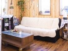 美容室リボン パルティーレの雰囲気(ゆったりとした待合スペース!)