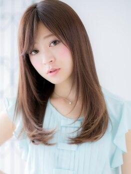 フェイス 赤羽 ネオ(face Akabane neo)の写真/★艶、手触りは当たり前。更に不快感のない縮毛矯正にリニューアルでより素敵ストレートに【face NEO】