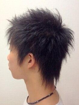 ヘアメイク グラント(HAIR MAKE GRANT)の写真/【八幡西区☆口コミ高評価】メンズにも高い支持の実力派サロン☆爽やかstyleからこだわりstyleもお任せ!