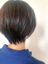 ヘアーエスクールステラ(hair S.COEUR stella)黒髪ショートヘア